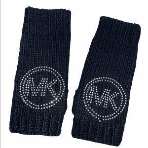 Michael Kors Knit fingerless muttons gloves